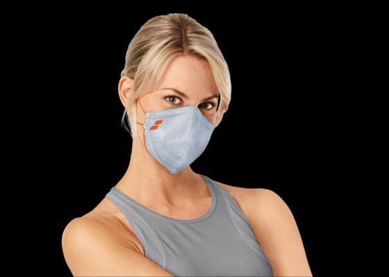 Mund-Nasen-3D-Flachstrick-Maske